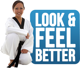 look and feel better with martial arts