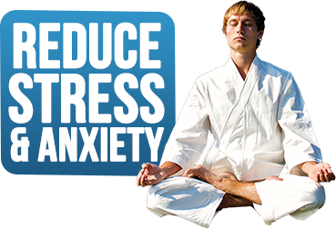 reduce stress and anxiety with martial arts
